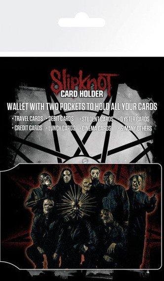 etui na kartę kredytową SLIPKNOT - BAND