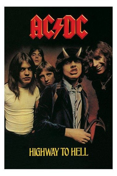 flaga AC/DC - HIGHWAY TO HELL