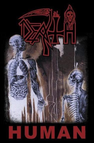 flaga DEATH - HUMAN