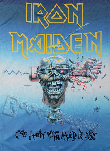 flaga IRON MAIDEN - CAN I PLAY WITH MADNESS