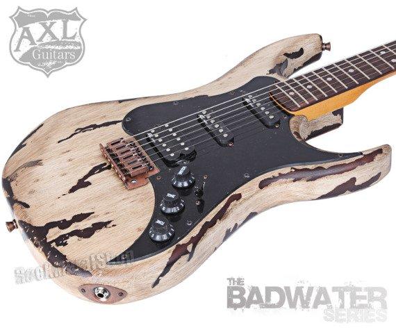 gitara elektryczna AXL SRO BADWATER / DISTRESSED GREY