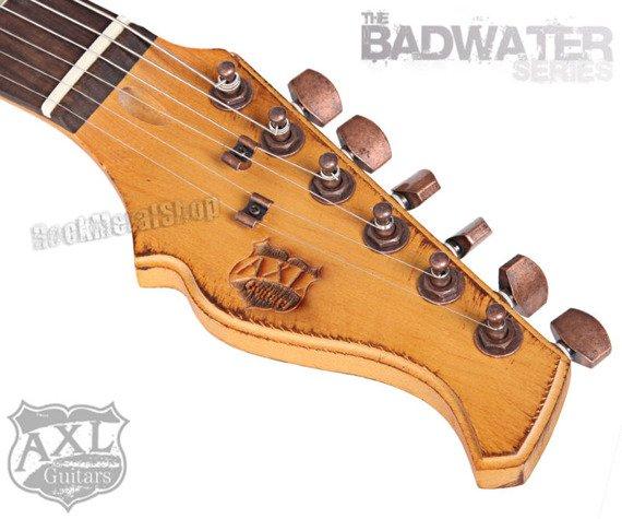 gitara elektryczna AXL SRO BADWATER / DISTRESSED RED