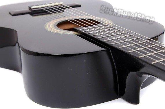gitara klasyczna MSA 3/4 CZARNA (C5)