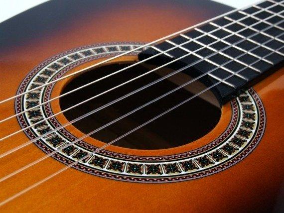 gitara klasyczna MSA C25 SUNBURST + ZESTAW AKCESORIÓW