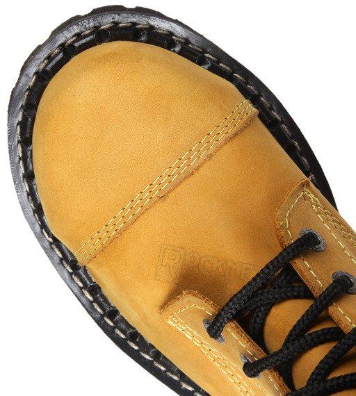 glany STEADY'S - 10 dziurek, żółte / CRAZY (STE/10)