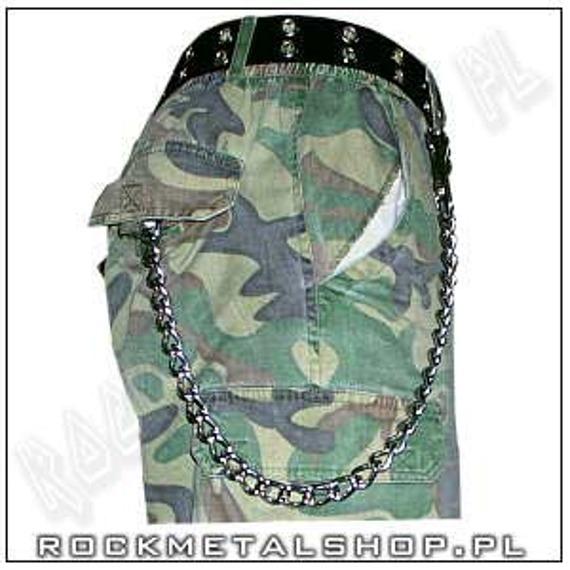 gruby łańcuch do kluczy/portfela (40 cm) z karabińczykiem NR 1