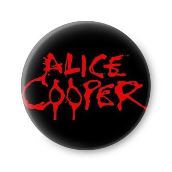 kapsel ALICE COOPER - RED LOGO