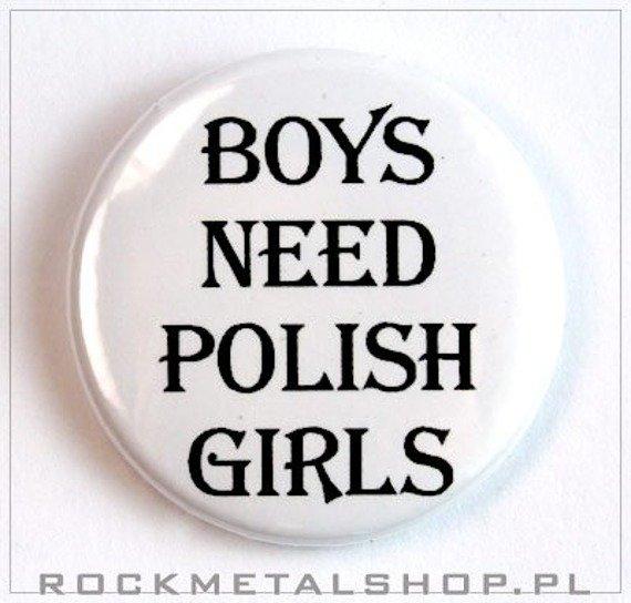 kapsel BOYS NEED POLISH GIRLS