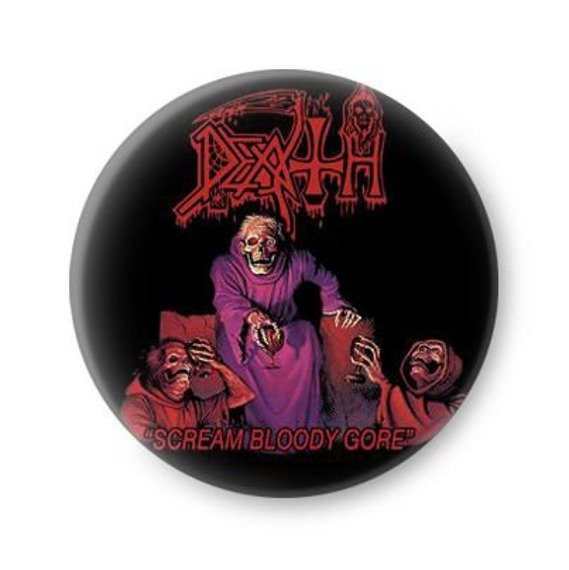 kapsel DEATH - SCREAM BLOODY GORE
