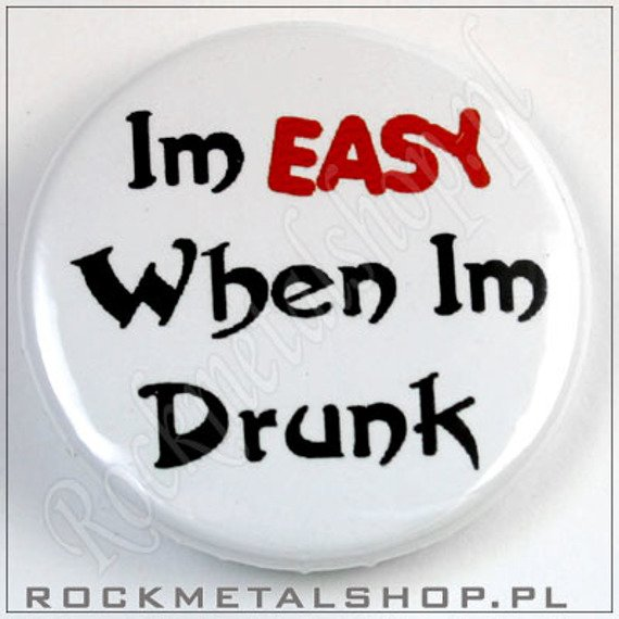 kapsel IM EASY WHEN IM DRUNK