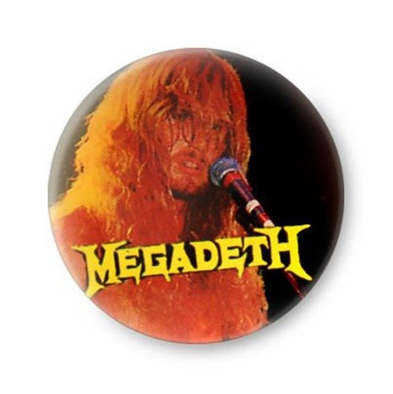 kapsel MEGADETH - DAVE MUSTAINE