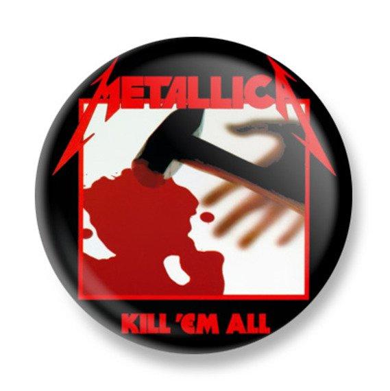 kapsel METALLICA - KILL 'EM ALL