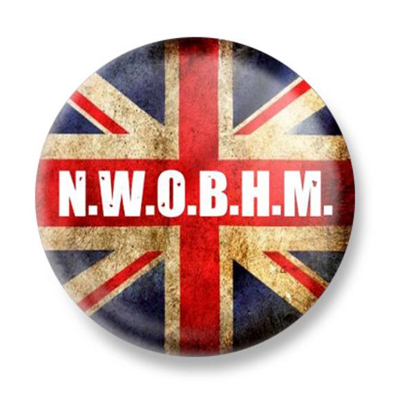 kapsel N.W.O.B.H.M. - BRITISH FLAG