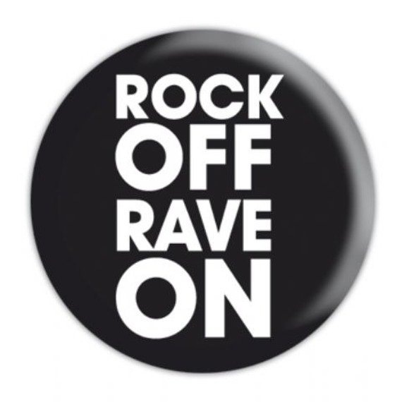 kapsel mały ROCK OFF RAVE ON