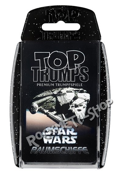 karty STAR WARS - VEHICLES TOP TRUMPSE