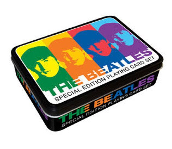 karty THE BEATLES  (NMR104011) (BOX)