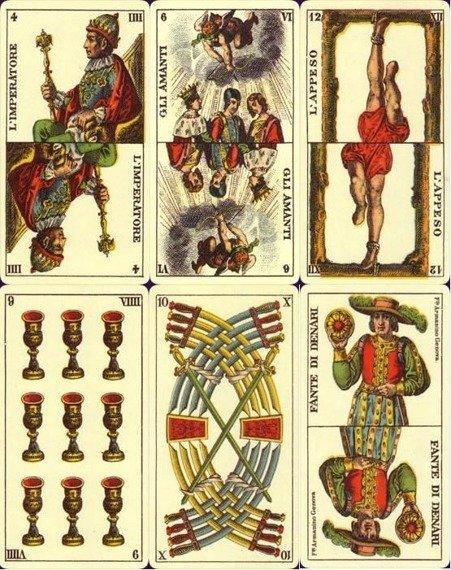 karty do tarota GENOVES TAROT