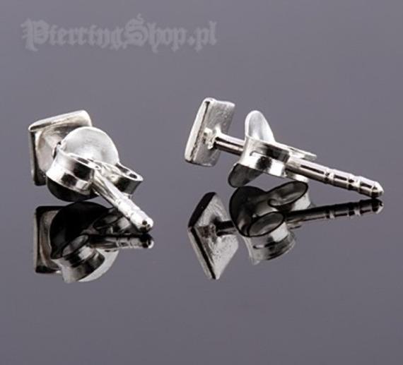 kolczyki do uszu KWADRAT [STF-361]