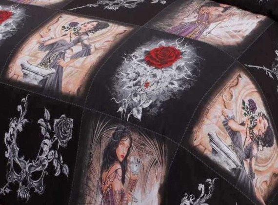 komplet pościelowy STORY OF THE ROSE, kołdra (140*200) + poduszka