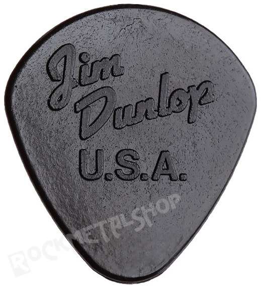 kostka gitarowa JIM DUNLOP - NYLON JAZZ I / 1.18 BLACK (47R1S)