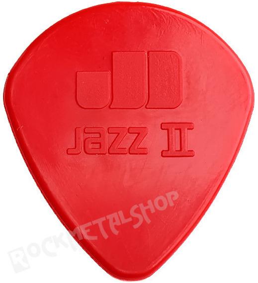 kostka gitarowa JIM DUNLOP - NYLON JAZZ II / 1.18 RED (47R2N)