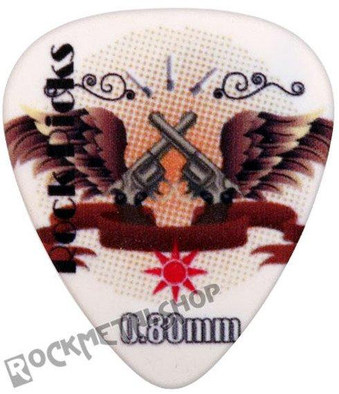kostka gitarowa ROCK PICK - FLYING PISTOLS