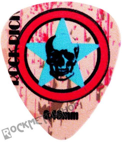kostka gitarowa ROCK PICK - STAR SKULL