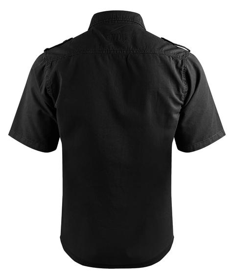 koszula 1/2 PLAIN SUMMER BLACK