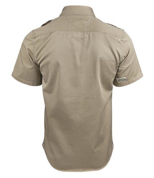 koszula 1/2 RAW VINTAGE beige