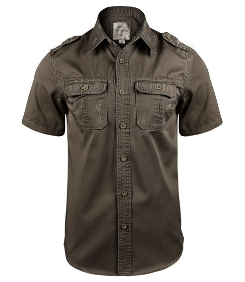 koszula 1/2 RAW VINTAGE brown