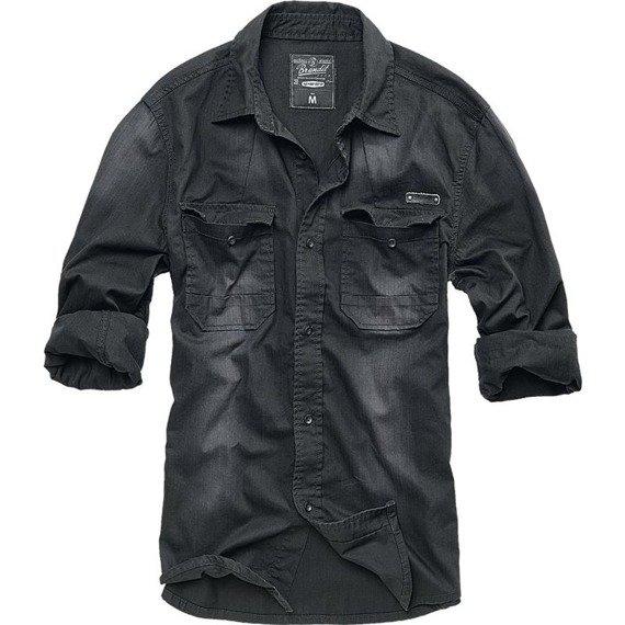 koszula DENIMSHIRT HARDEE BLACK