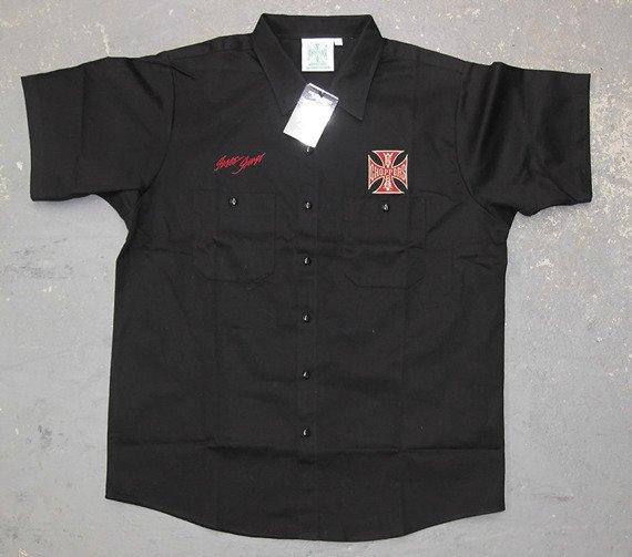 koszula WEST COAST CHOPPERS - GENUINE czarny