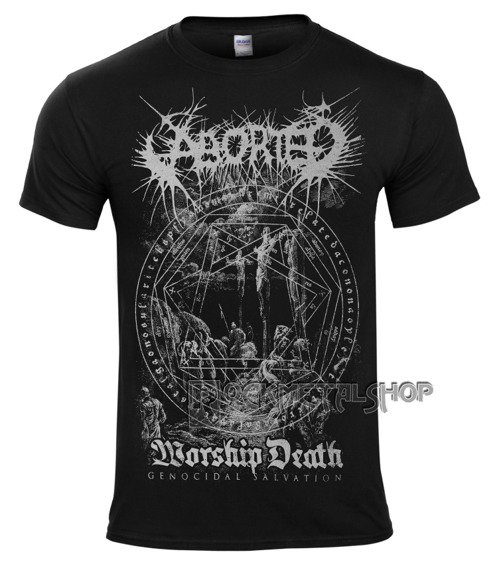koszulka ABORTED - WORSHIP DEATH