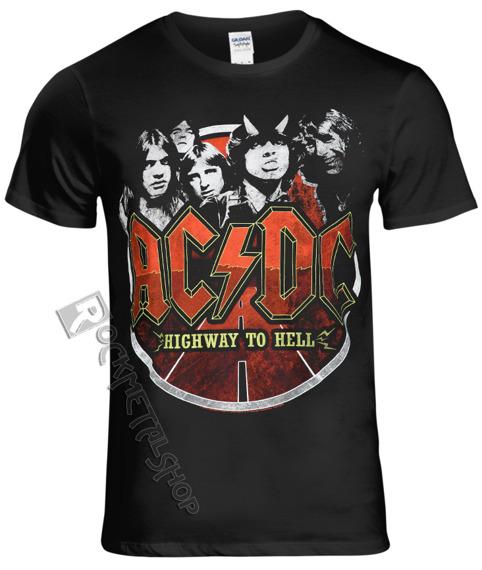 koszulka AC/DC - BAND CIRCLE