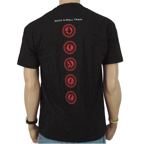 koszulka AC/DC - ROCK N ROLL TRAIN