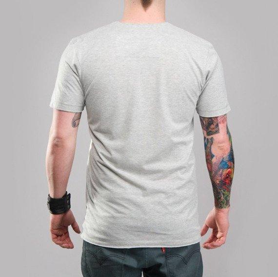 koszulka AC/DC - SOUND szary melanż