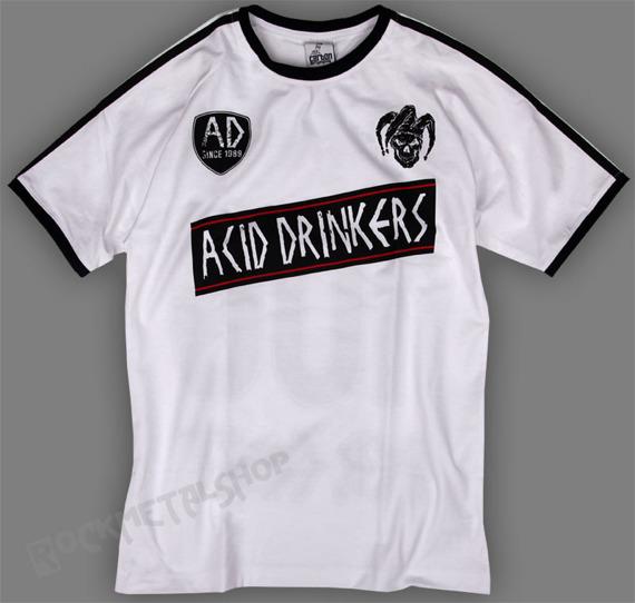 koszulka ACID DRINKERS - 100 PERCENT white