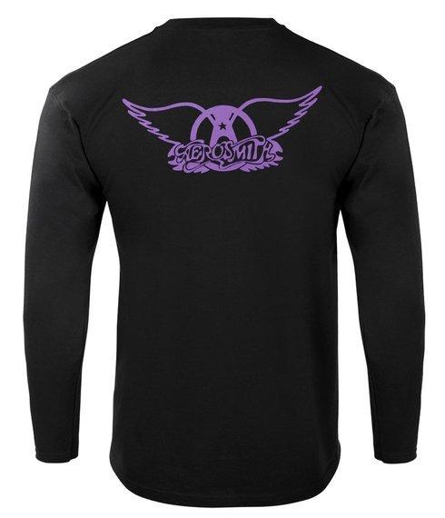 koszulka AEROSMITH - GUITAR barwiona