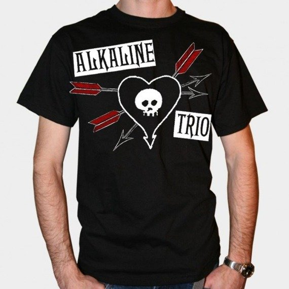 koszulka ALKALINE TRIO - ARROW HEART (BLACK)
