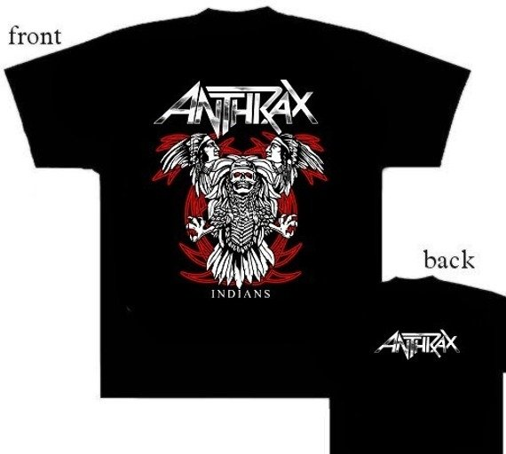 koszulka ANTHRAX -  INDIANS