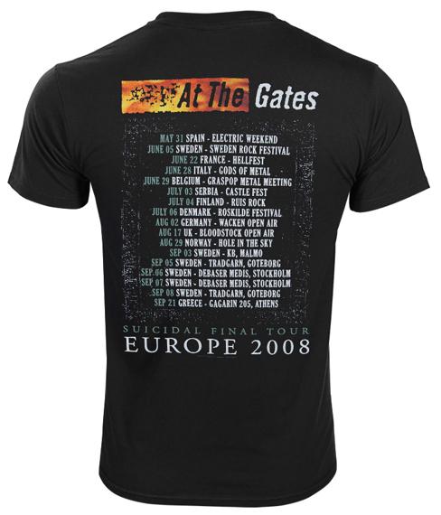 koszulka AT THE GATES - SUICIDAL FINAL SLAUGHTER