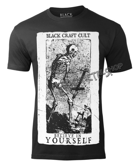 koszulka BLACK CRAFT - BELIEVE IN YOURSELF