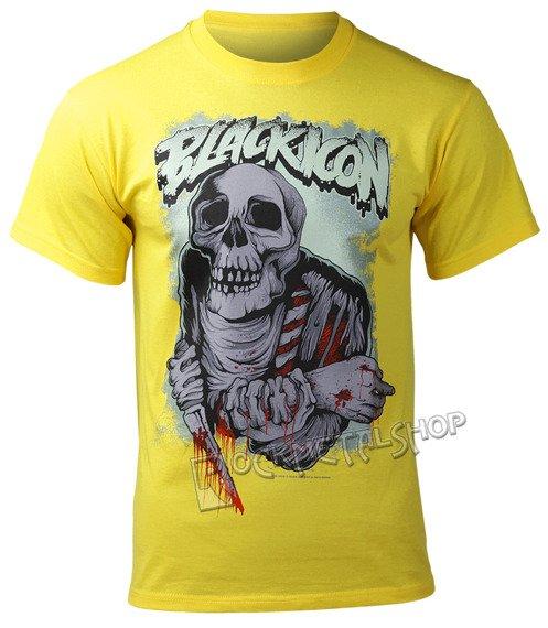 koszulka BLACK ICON - EAT (MICON086 YELLOW)