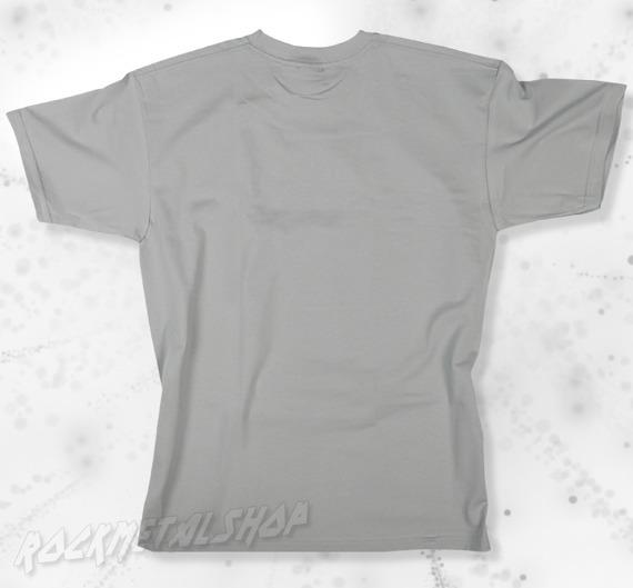 koszulka BLACK ICON - ROCK'N'ROLL IS DEAD heather grey (MICON107GRY)