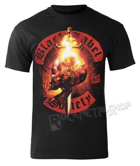 koszulka BLACK LABEL SOCIETY - FLAMING SKULL