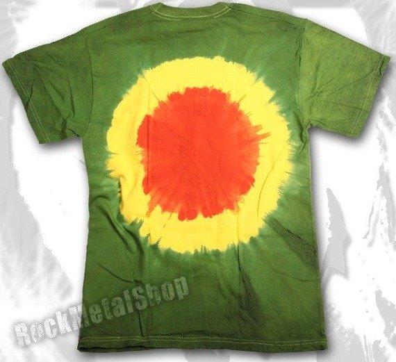 koszulka BOB MARLEY barwiona