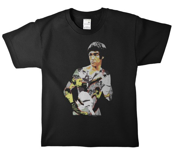 koszulka BRUCE LEE - BODY OF ACTION