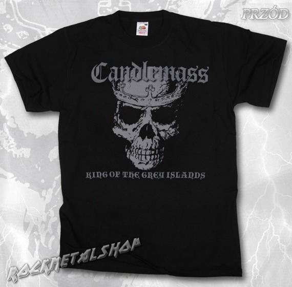 koszulka CANDLEMASS - KING OF THE GREY ISLANDS