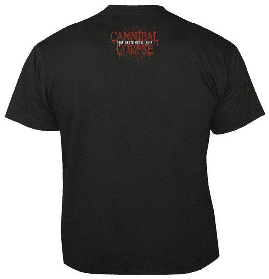 koszulka CANNIBAL CORPSE - CAGED... CONTORTED