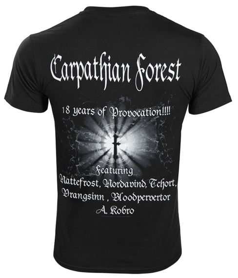 koszulka CARPATHIAN FOREST - 18 YEARS PROVOCATION